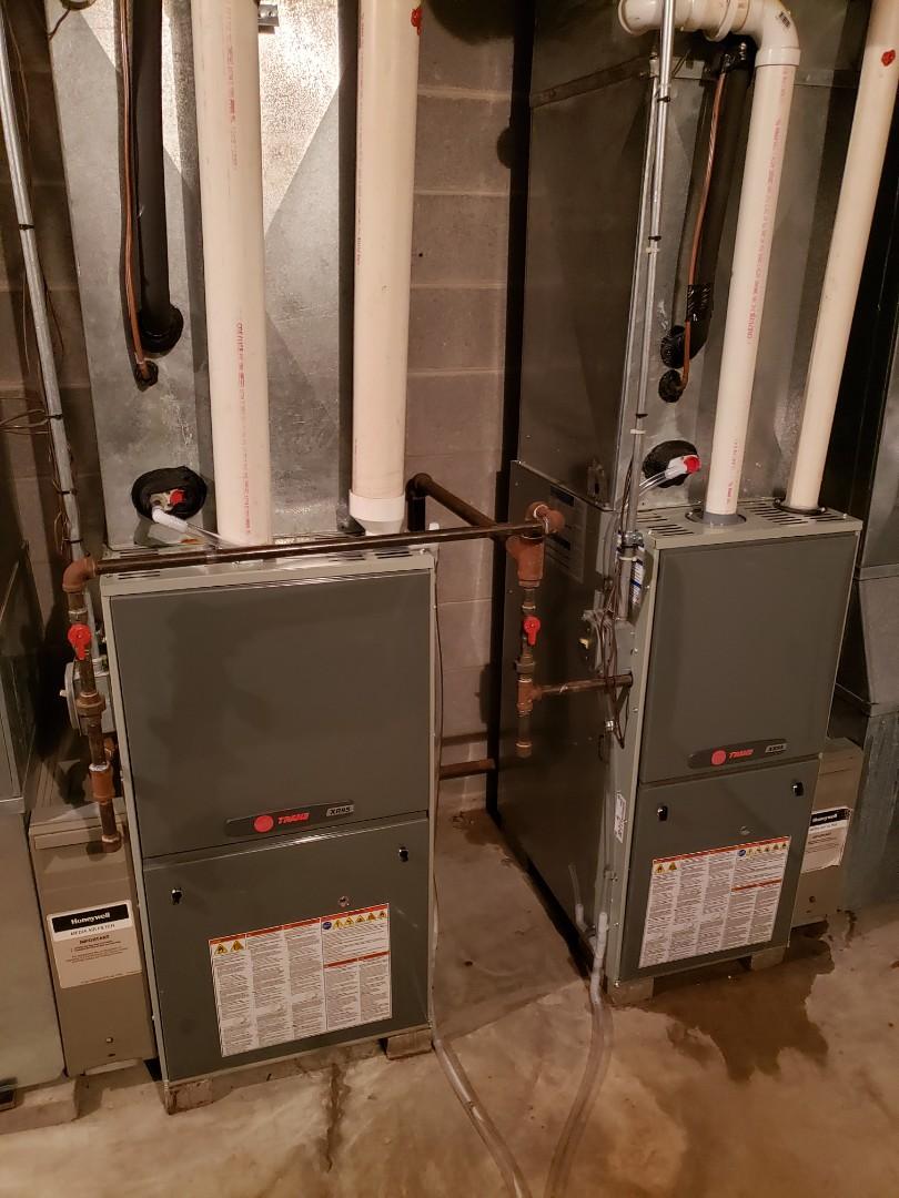 Watertown, WI - New Trane furnace installs