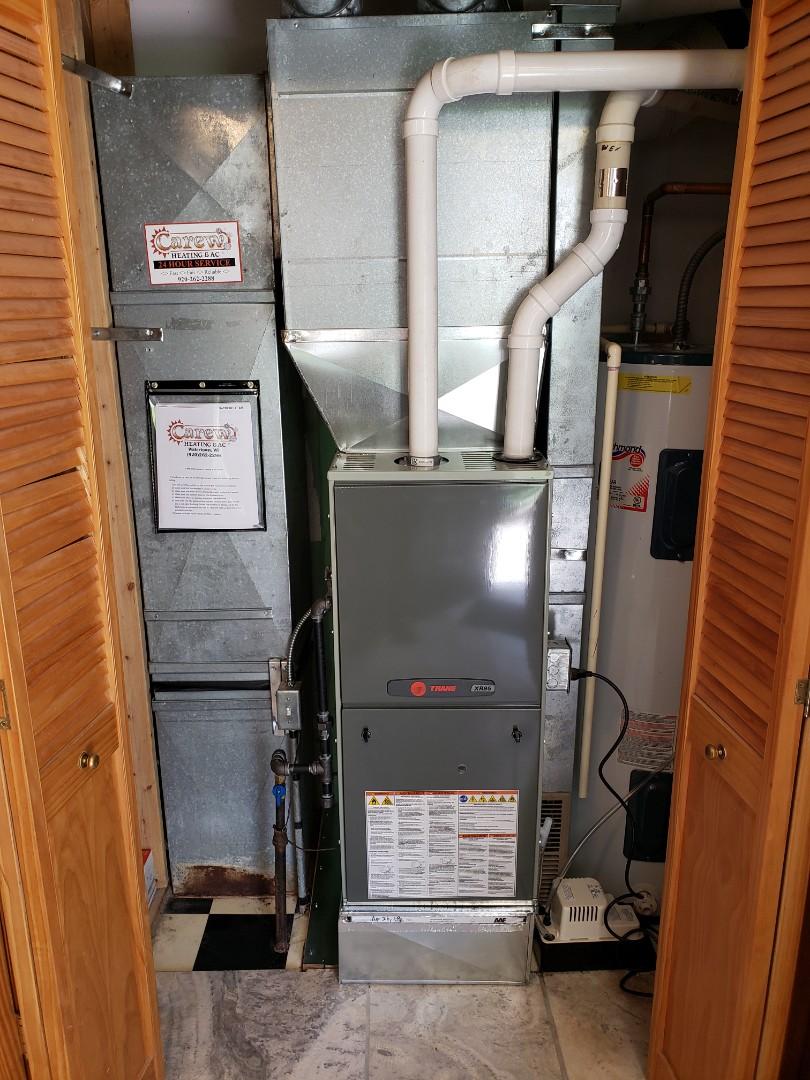 Watertown, WI - New Trane furnace install