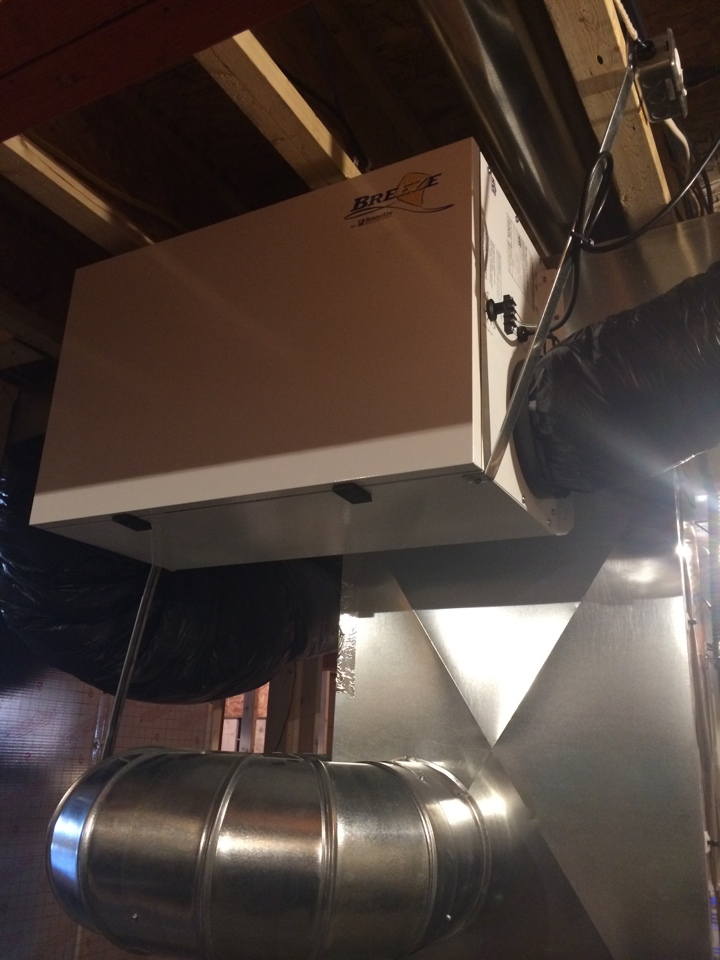 Cottage Grove, WI - Improve indoor air quality with an air to air exchanger.