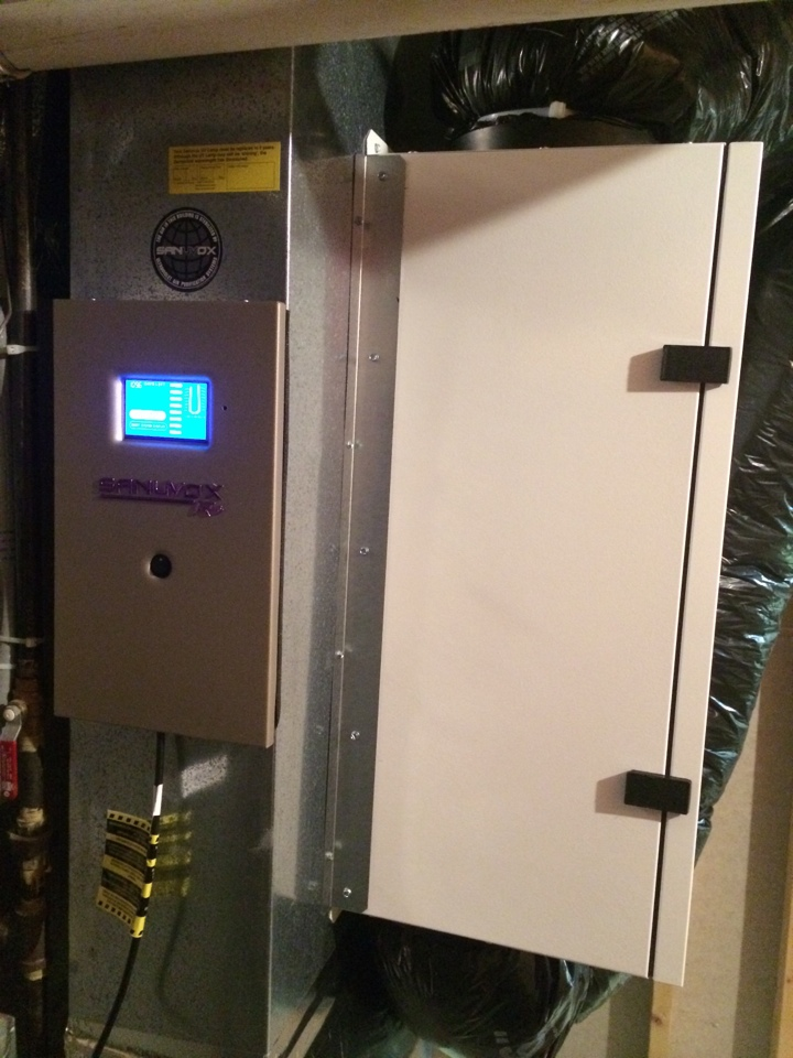 Waterloo, WI - Helping indoor air quality with air to air exchanger, Sanuvox ultra violet light, and aprilaire high efficiency air cleaner in Waterloo.