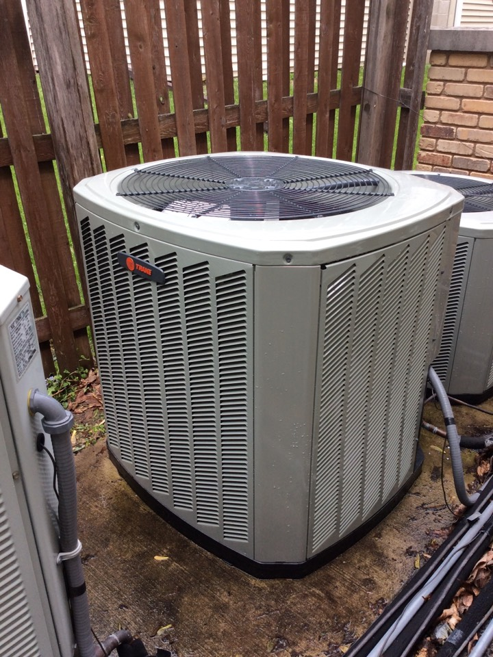 Marshall, WI - Performed AC tune-up on a Trane