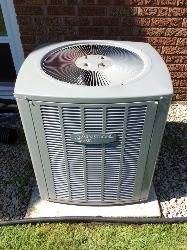 Reeseville, WI - Performed air conditioner tune-up on an Armstrong Air