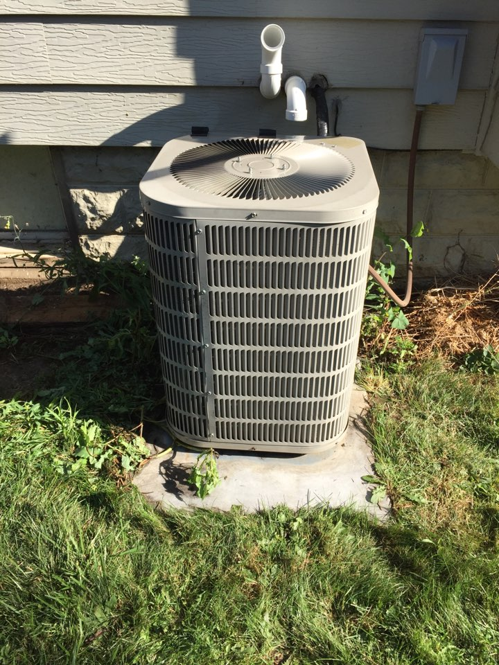 Horicon, WI - Performed air conditioner tune-up on a Goodman