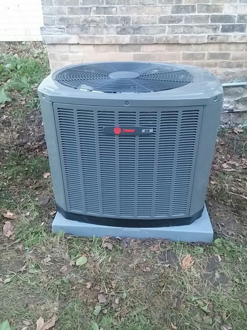 Lowell, WI - Replaced furnace and ac w new Trane equipment