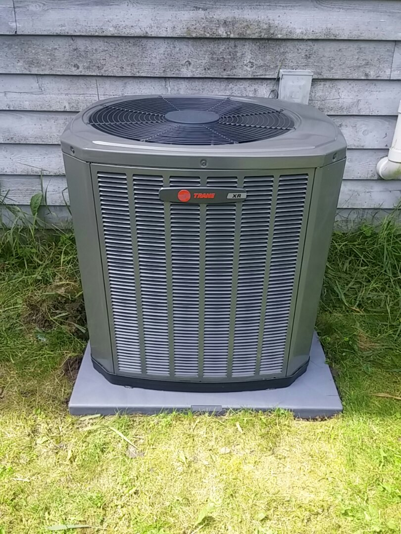 Lake Mills, WI - Installed a new Trane ac
