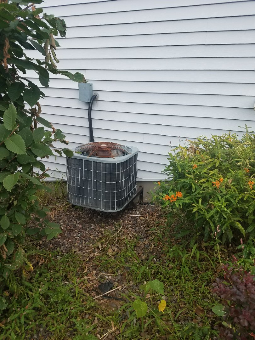 Watertown, WI - AC maintenance.  Tune up on a carrier air conditioner