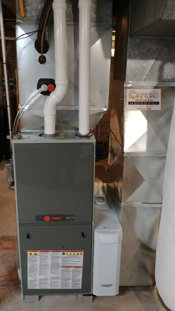 Watertown, WI - Installed a new Trane furnace