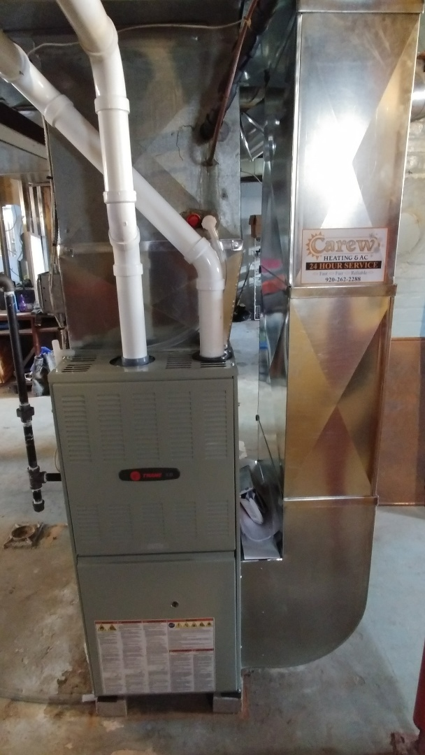 Ixonia, WI - Installed a new Trane furnace.