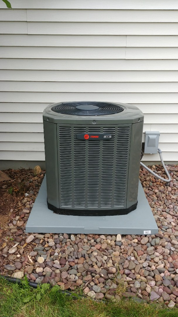 Watertown, WI - Installed a new Trane a.c..