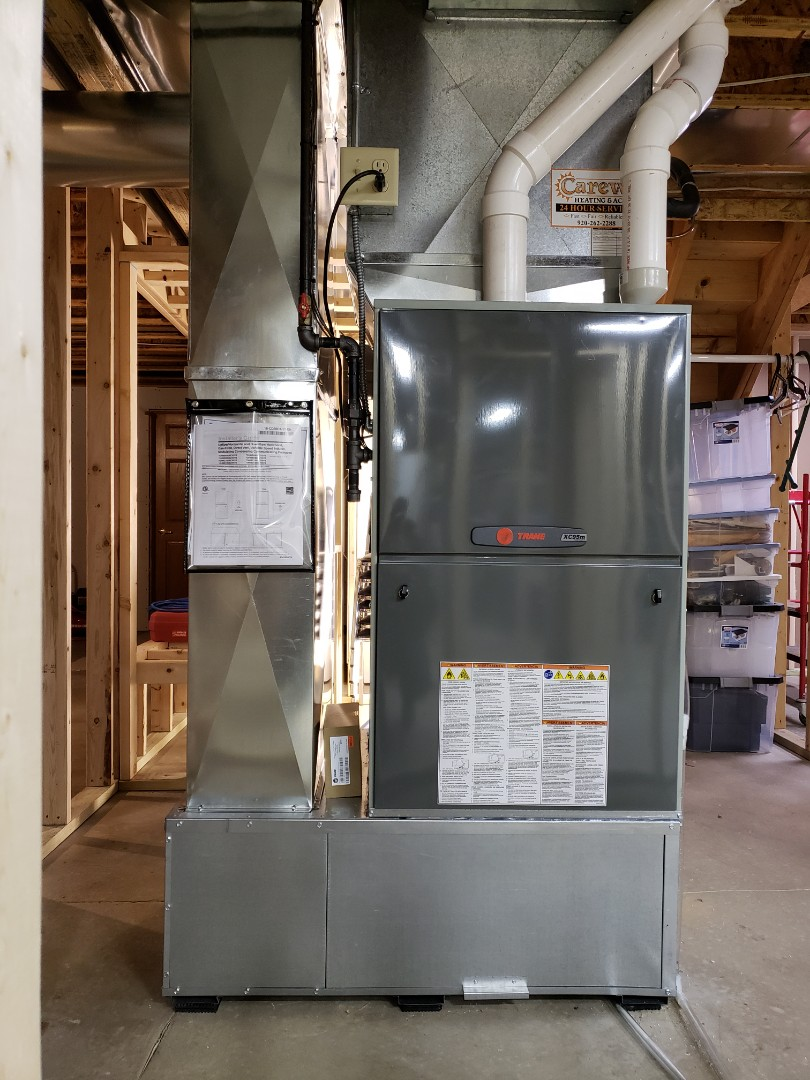 Marshall, WI - New Trane modulating furnance install