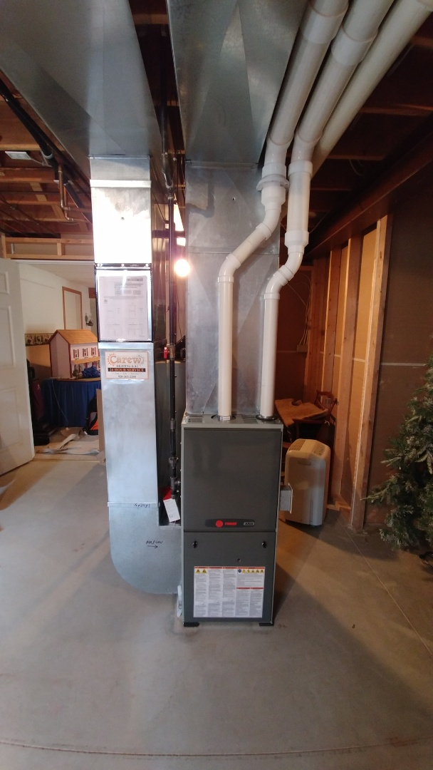 Johnson Creek, WI - Install new Trane furnace