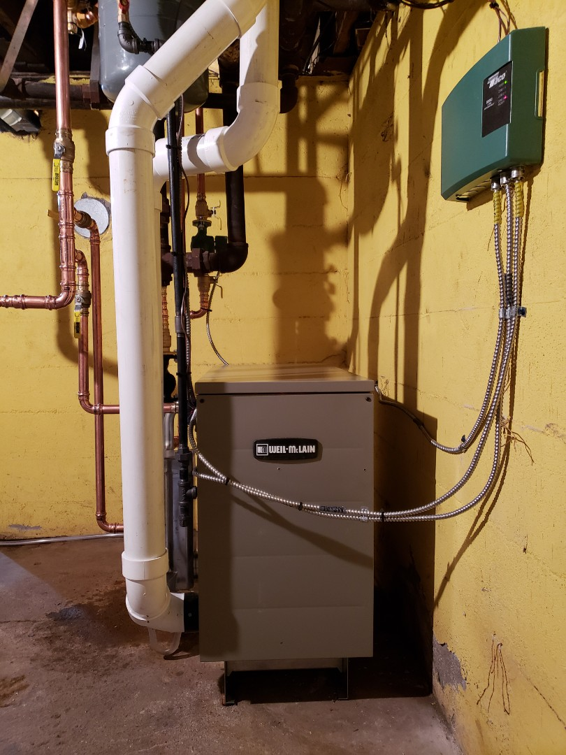 Lebanon, WI - New Weil-Mclain boiler install