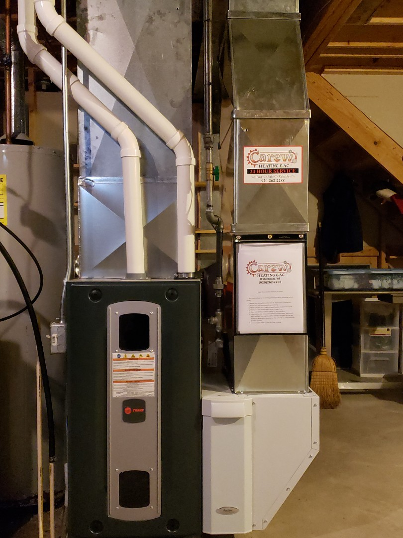 Watertown, WI - New Trane Furnace install