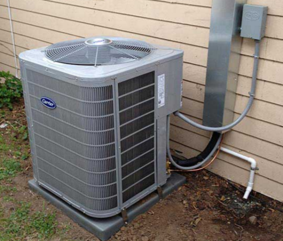 Prosper, TX - AC repair and seasonal tune-up maintenance on Carrier Infinity 21 Seer cooling system. Replace drain pans, clean filters and inspect safety devices. Restore system and help improve over performance and lower utility bills.