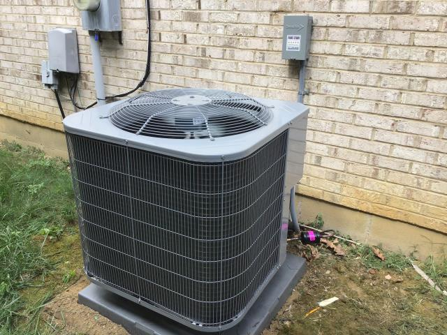 "Springboro, OH - I installed a new Five Star 80% 90,000 BTU Gas Furnace 4T 21""--Five Star 13 SEER 3.5 Ton Air Conditioner"