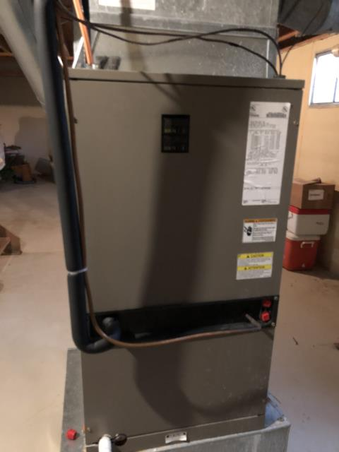 Morrow, OH - I am Performing our Five Star Tune-Up & Safety Check on a  York Electric Furnace. All readings were within manufacturer's specifications, unit operating properly at this time.