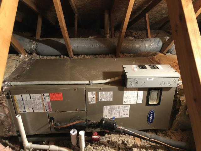 Loveland, OH - I installed a new Five Star Multi-Speed 2 Ton Electric Furnace  and a new Five Star 15 SEER 2 Ton Heat Pump