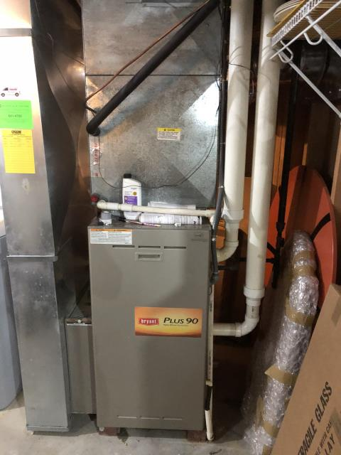 South Lebanon, OH - I pulled and cleaned the flame sensor and the condensate trap and replaced the motor surge capacitor. Cycled system multiple times with no issues. Unit is heating properly at the time of departure.