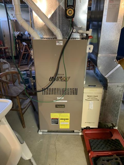 Loveland, OH - I replaced a humidifier pad and the inducer motor. System is operational upon departure.