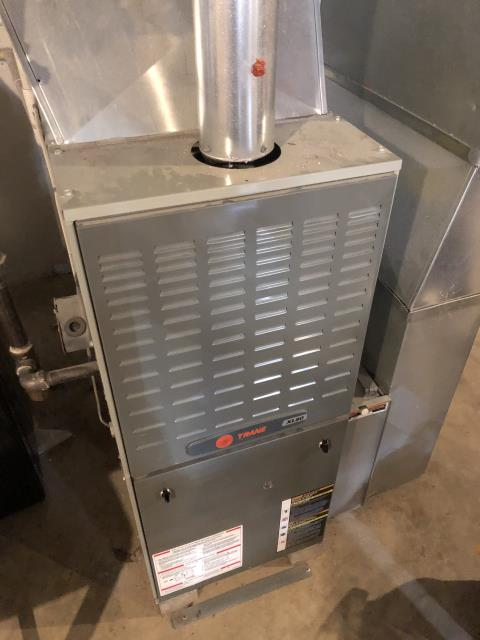 Cincinnati, OH - I completed a diagnostic on a Trane gas furnace.  There was an error code for no call for heat. Determined that the flame sensor was dirty.  I cleaned the flame sensor.  The blower motor capacitor is weak.  Cycled the unit multiple times with no issues.  I gave the client an estimate to replace the blower motor capacitor.  Client declined to replace the capacitor at this time.  I recommend that if the intermittent issue continues that it is possible that it is the  thermostat or the control board.  I recommend that the thermostat be replaced first if issues continue.  Cycled and monitored the system.  Operating normally at this time.