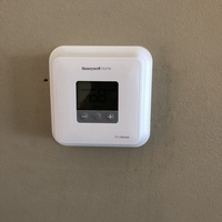 Trenton, OH - Installed a Thermostat  for customer Honeywell brand. I also ran a diagnostic for customer and removed front panel to visually inspect any issues. Customer's system in great working order upon departure.