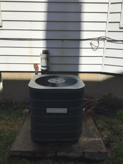 Middletown, OH -  completed a half install of an air conditioner. System completely functional at the time of departure.
