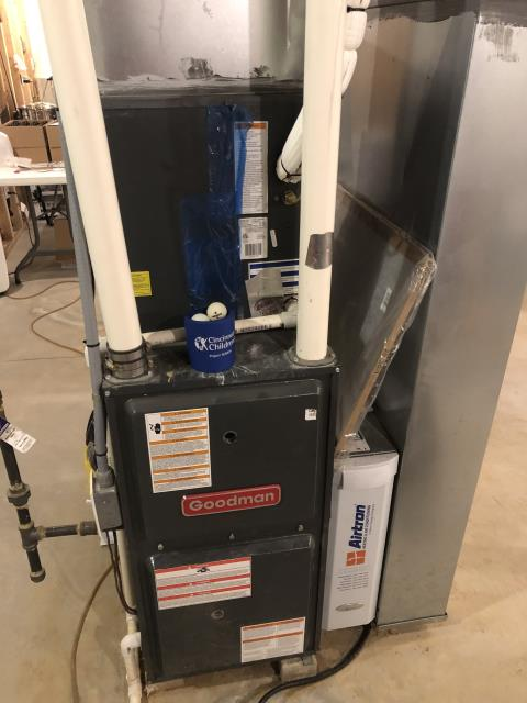 Morrow, OH - I completed a tune up and safety check on a gas furnace.