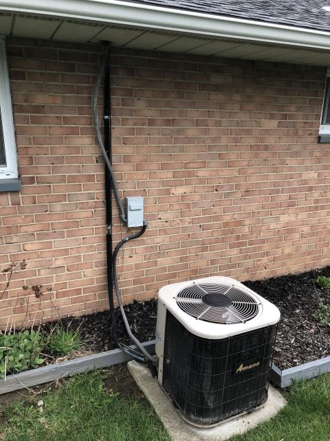Lebanon, OH - I completed an estimate for a Carrier 80% 70,000 BTU Gas Furnace and a Carrier 13 SEER 2 Ton Air Conditioner.