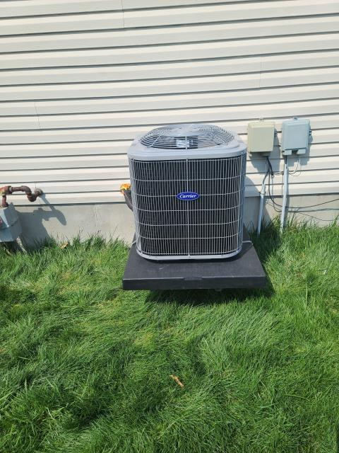 Middletown, OH - I installed a Five Star 80% 70,000 BTU Gas Furnace and a Five Star 13 SEER 2.5 Ton Air Conditioner. System is set and customer is ready for the cooling season.