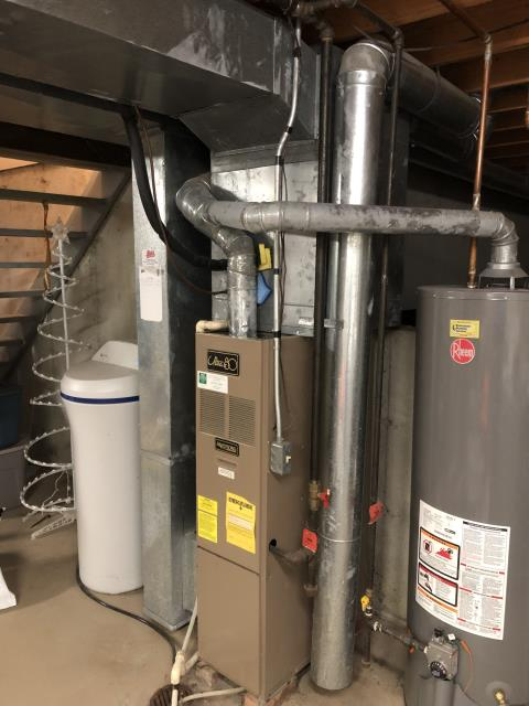 Maineville, OH - I performed a diagnostic on an Armstrong gas furnace.  I found that the 3 way pilot system was not sending a signal back to the valve that pilot had lit.  I pulled and cleaned the pilot tubing and assembly but unit still wouldn't light.  I quoted the cost to repair the gas valve and pilot assembly but customer decided to replace the whole Hvac system.