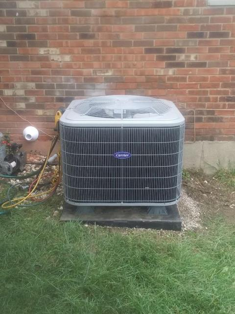 Cincinnati, OH - I went to the customer's home to install a Five Star 96% Two-Stage 80,000 BTU Gas Furnace, and a Five Star 16 SEER 3 Ton Air Conditioner.  Both systems were fully operational when I left.