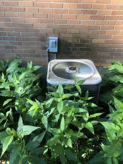 Lebanon, OH - I performed a diagnostic on a Lennox air conditioner.  I found that the  Compressor-Motor Surge Capacitor 2-35/5CMSC was bad so I replaced it.  I also found that the unit was low on refrigerant due to a leak.  I added 1 lb of R-22.