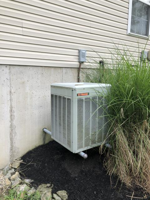 Hamilton, OH - I went to customers home to do a diagnostic on a Trane AC unit. I found filter needed changed and refrigerant levels were low. I replaced filter and added 2.5 lbs and refringent. System cooling at time of departure.