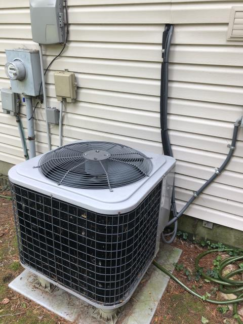 Mason, OH - I completed a diagnostic service on an AC unit. Installed Tstat. Cycled heat and A/C.
