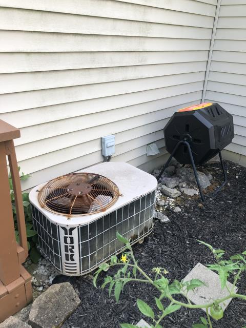 Lebanon, OH - I completed a diagnostic on a York air conditioning unit. I found the blower motor is not coming on and if it does, only runs 20%. The blower has failed and the customer decided for us to replace the unit.