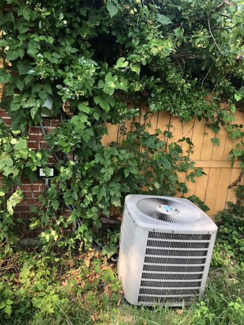 Springboro, OH - I completed a diagnostic on a Goodman air conditioning unit. I found the blower motor is going out, and cap reading is ok but it is struggling to kick on. I will need to move water heat in order to replace the blower. The water heater flue was not connected, and I connected flue. I gave the customer options and they said they would let us know.