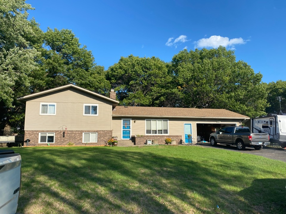 Sartell, MN - Hail damage Roof and Siding inspection.
