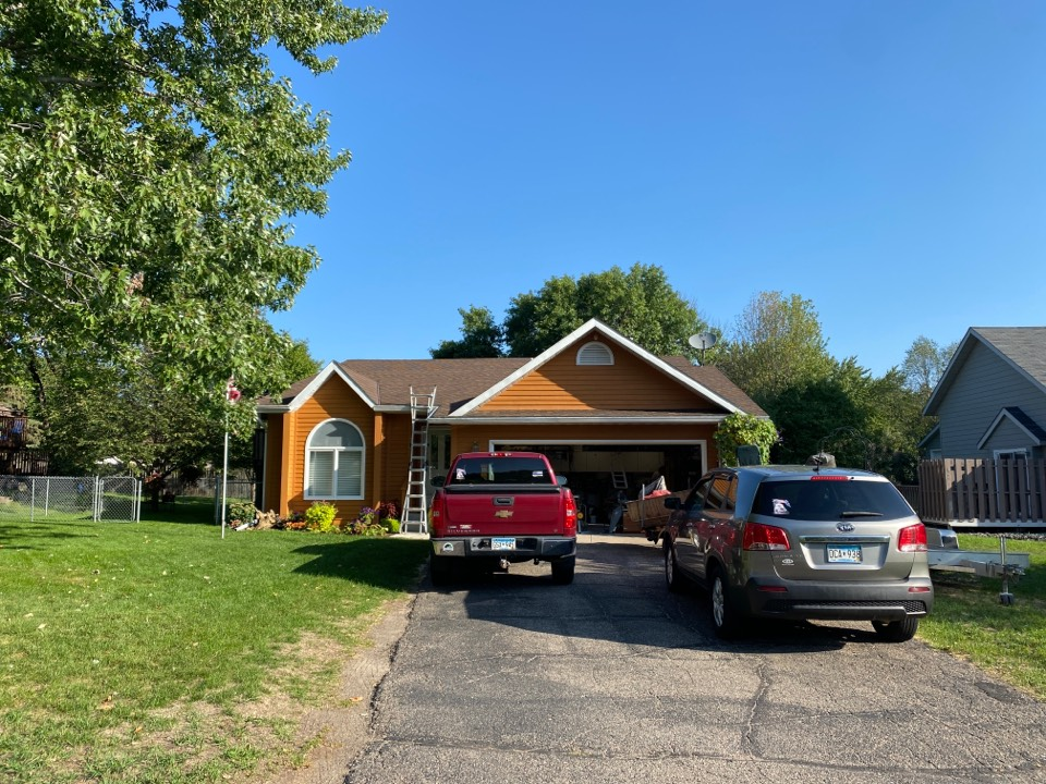 Sartell, MN - Roof inspection and adjusters meeting in Sartell.