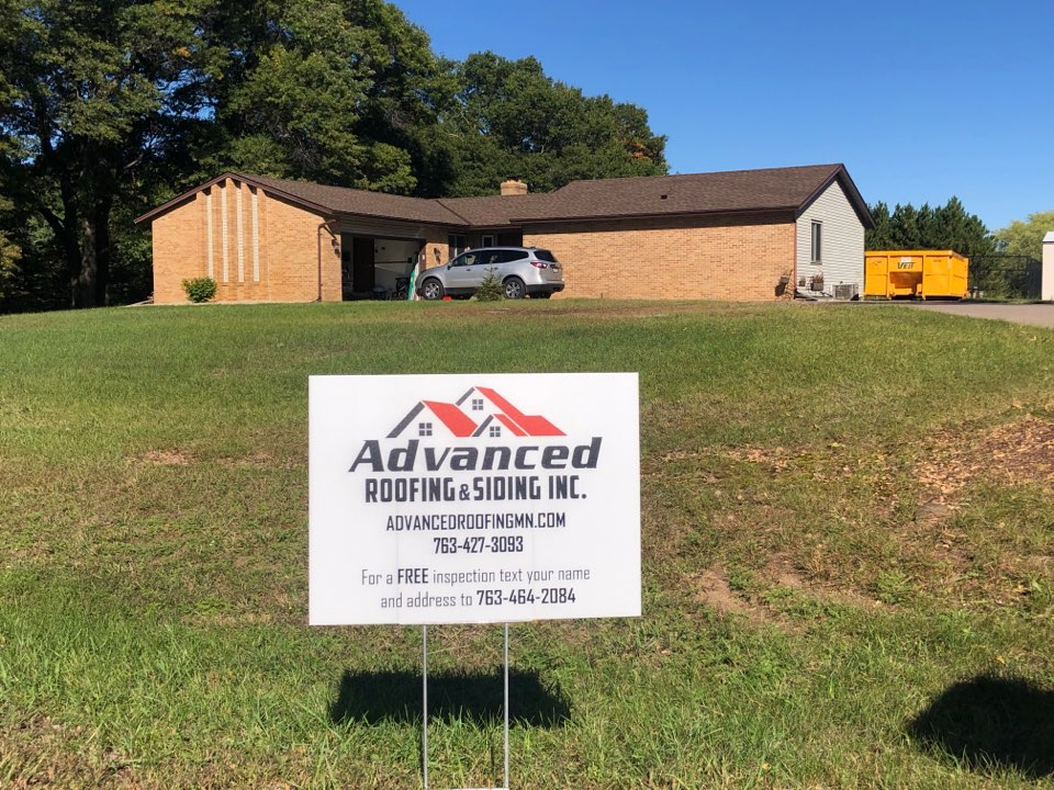 Oak Grove, MN - Another wonderful roofing project wrapped up!! Give advanced roofing and siding a call for all your roofing and siding needs!! Advancedroofingmn.com