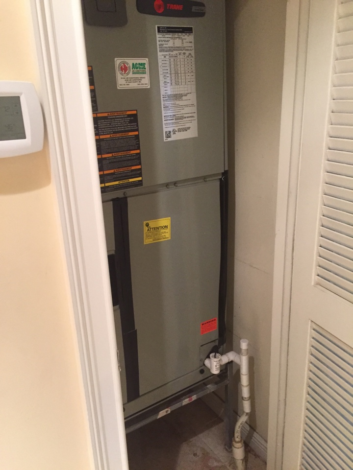 Pinecrest, FL - Fixing up a Trane that had some issues