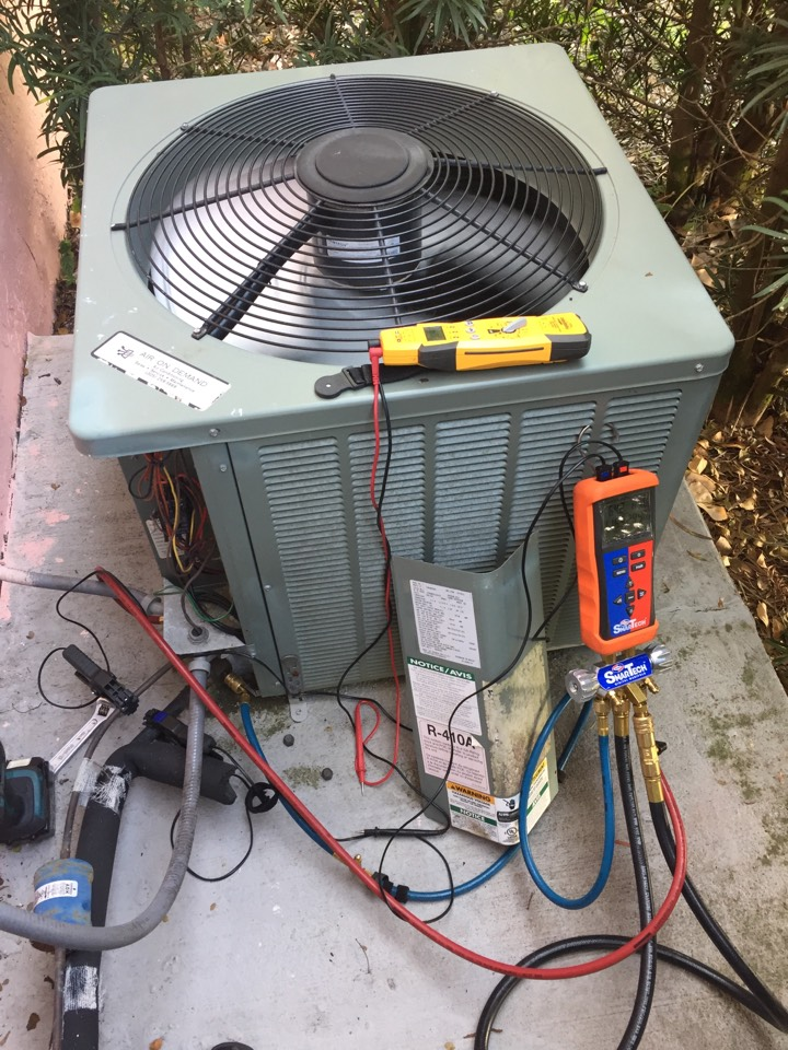 Homestead, FL - AC tuneup on a Rheem 3.5ton system