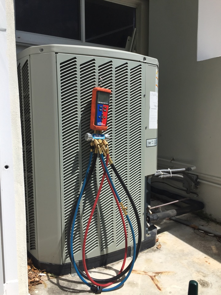 Coral Gables, FL - AC tuneup on 3 Trane systems