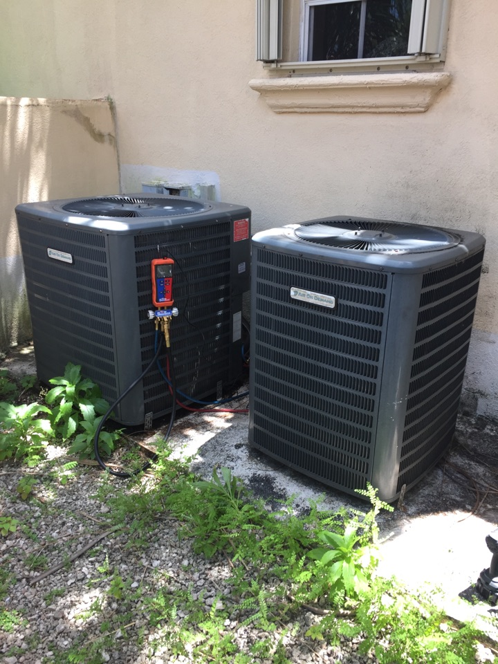 Pinecrest, FL - AC tuneup on 2 Air On Demand systems