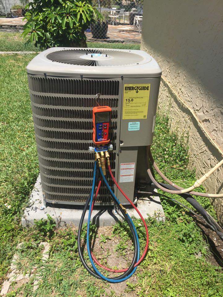 Cutler Bay, FL - AC diagnostic on a 4ton goodman system