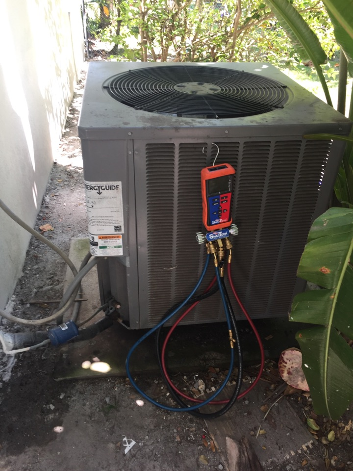 Pinecrest, FL - AC system diagnostic on a 3 ton Rheem system