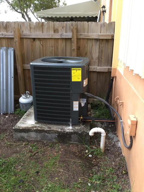 Homestead, FL - New equipment installation