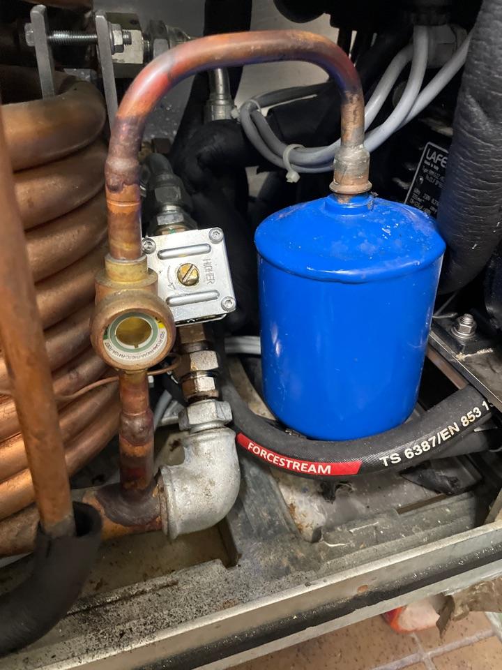 Austin, TX - Frost gelato adjustment to condenser water regulating valve