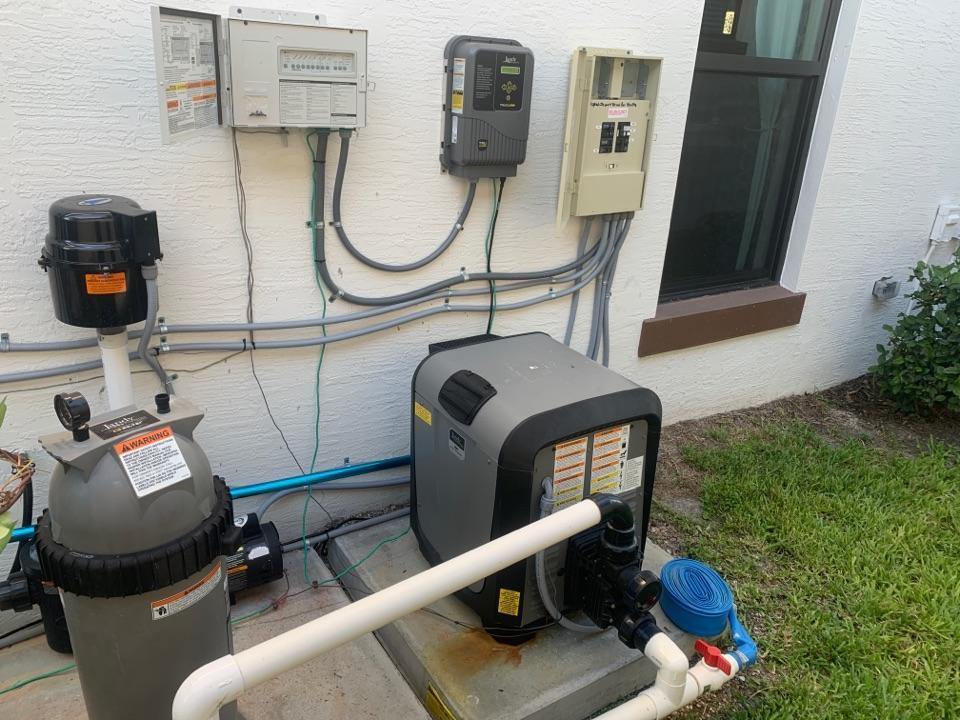 Palm Beach Gardens, FL - Gas pool heater repair