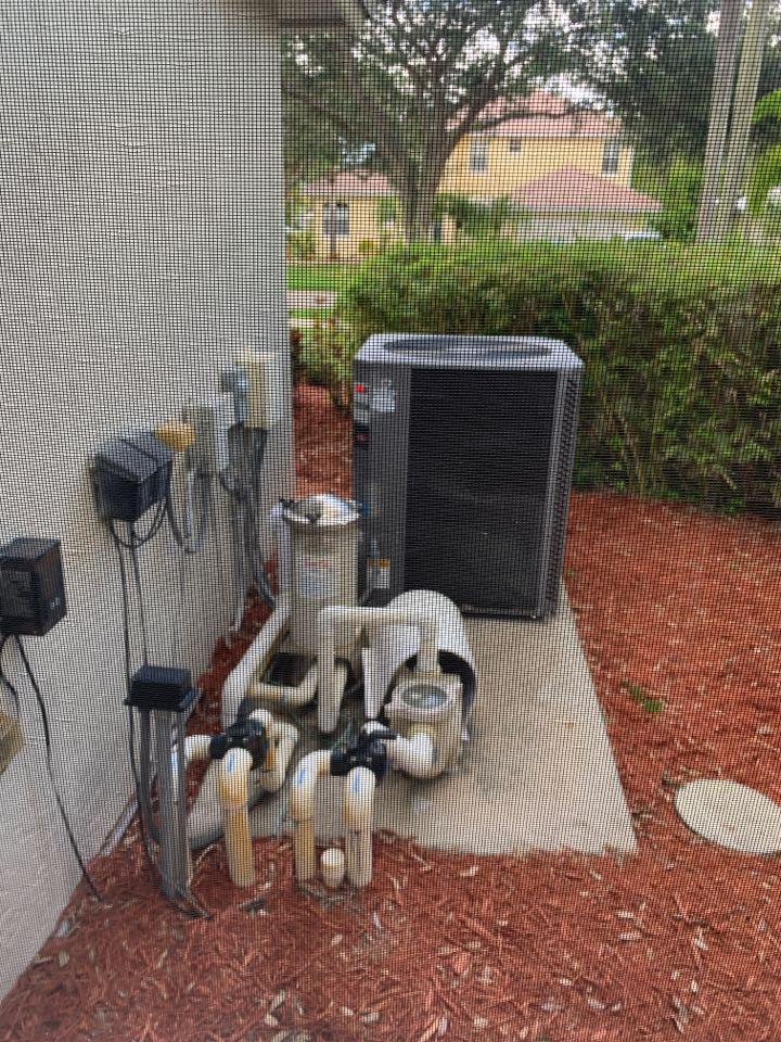 Royal Palm Beach, FL - Pool heater repair