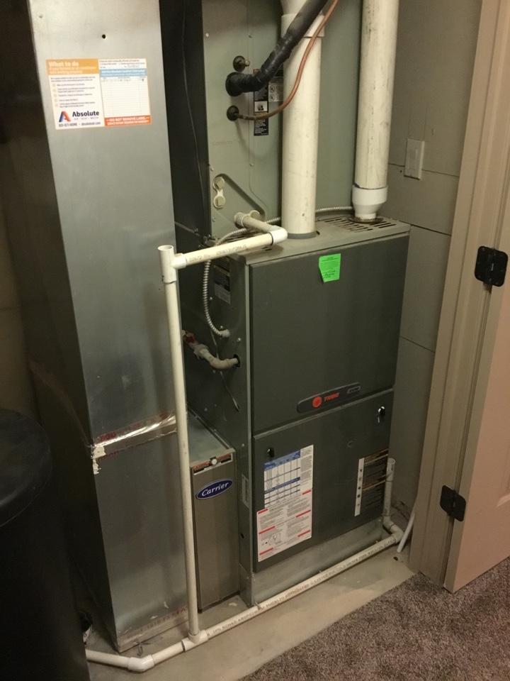 Salem, UT - Trane furnace and AC tuneup